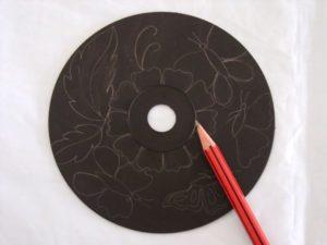 Узоры на cd диске