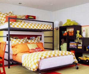 Двухъярусная кровать для детской