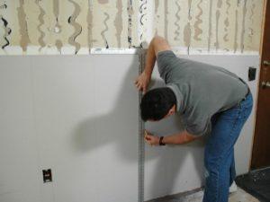 установка шипсокартона прямо на стену