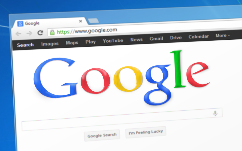 Google на экране