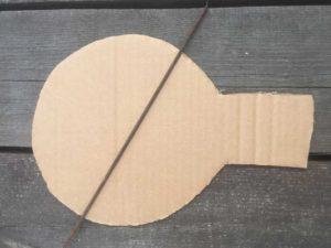 Картонная крышка для мышеловки