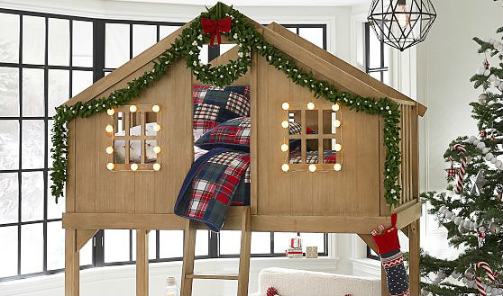 Кровать-чердак для детей от 3 лет - мечта любого ребенка