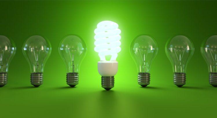 энергосберегающая дампа и дампы накаливания