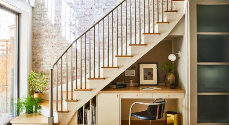 В стиле лофт лестница