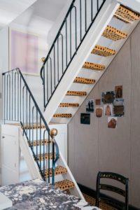 Лестница с титивами