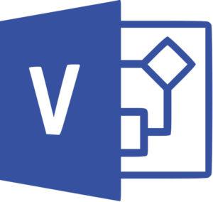 Логотип MS-visio