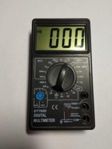 Прибор мультиметр