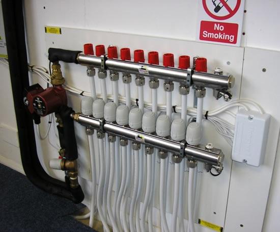 Распределительный коллектор отопление