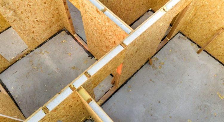 Дом из сип панелей вид сверху