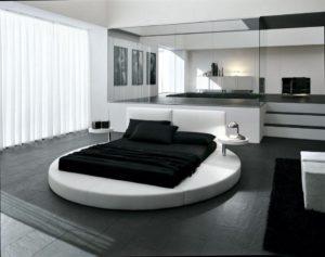 Спальня в стиле хайтек