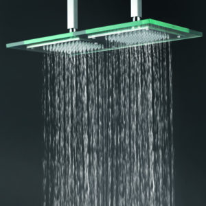Тропический душ стеклянная лейка