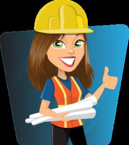 Женщина -строитель