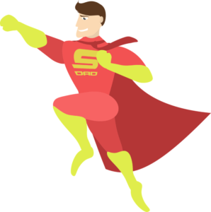 Папа супермен