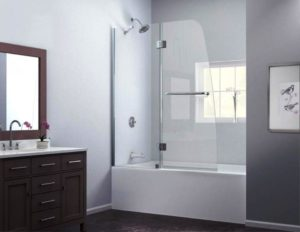 Ванная в Сканди стиле